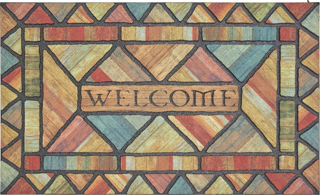 Mohawk Doorscapes Mat Welcome Woodland Walk
