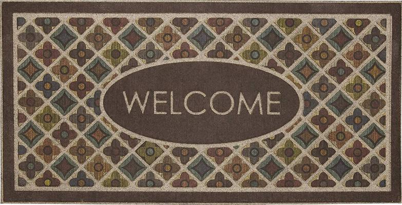 Mohawk Ornamental Entry Mat Flowery Tiles