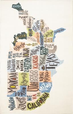 Mohawk Prismatic States Map
