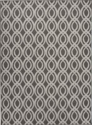 Nourison Aruba ARB05 Gray/Silver