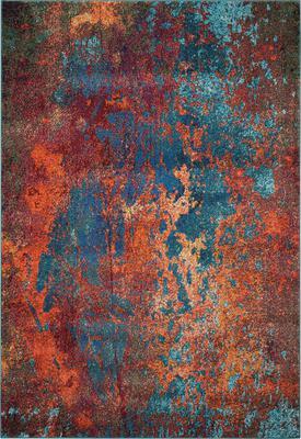 Nourison Celestial CES08 Orange/Rust