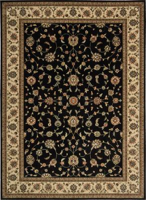 Nourison Persian Arts BD04 Black Rectangle 10X13