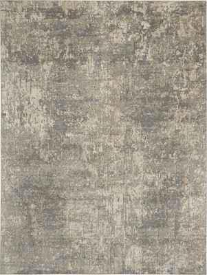Nourison Quarry QUA03 Gray/Silver