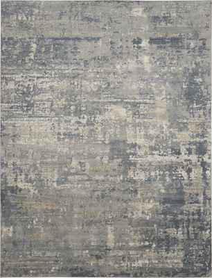 Nourison Quarry QUA04 Gray/Silver
