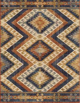 Orian Alexandria Kilim Diamonds