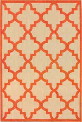 Oriental Weavers Cayman 660O9 Orange/Rust