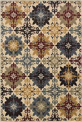 Oriental Weavers Stratton 6017A Beige/Tan
