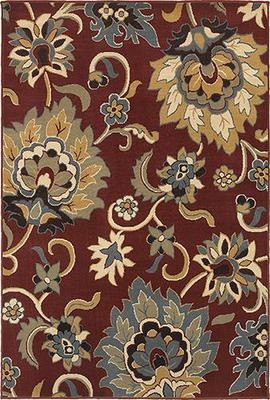 Oriental Weavers Stratton 6034C Red/Burgundy